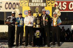 NHRA-Champions 2016: Antron Brown, Ron Capps, Jason Line, Jerry Savoie