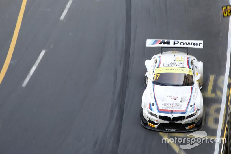 Ausgefallen: Ricky Capo, Modena Engineering, BMW Z4 GT3