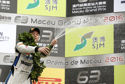 Podium GT-Cup: 3. Fabian Plentz, Team HCB-Rutronik-Racing, Audi R8 LMS