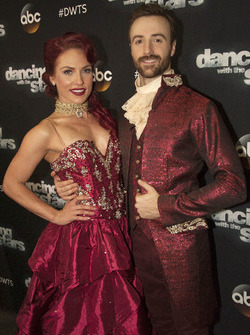 James Hinchcliffe und Sharna Burgess