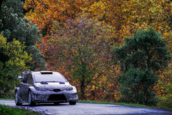 Toyota Yaris WRC tarmac testing