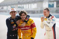 Pierre Gasly, PREMA Racing, Antonio Giovinazzi, PREMA Racing e Raffaele Marciello, RUSSIAN TIME