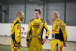 Gabriele Tarquini, LADA Sport Rosneft, Lada Vesta; Nicky Catsburg, LADA Sport Rosneft, Lada Vesta; Tom Coronel, Roal Motorsport, Chevrolet RML Cruze TC1