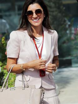Fabiana Flosi, mujer de Bernie Ecclestone