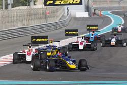Santino Ferrucci, DAMS vor Charles Leclerc, ART Grand Prix