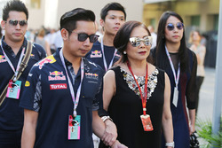 Daranee Yoovidhya, Red Bull Racing Co-Owner and Vorayuth Yoovidhya