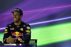 Conférence de presse : le troisième, Daniel Ricciardo, Red Bull Racing