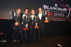 2016 Sprint Cup Pilotlar şampiyonu Enzo Ide, 2. Christopher Mies, 3.Dominik Baumann, Maximilian Buhk