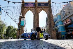 Jimmie Johnson, Hendrick Motorsports, Chevrolet, in Las Vegas