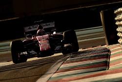 Kimi Raikkonen, Ferrari, prova le Pirelli 2017