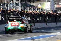 Пьеро Лонги и Джанмария Сантини, Ford Fiesta RS WRC