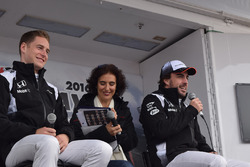 Stoffel Vandoorne, Fernando Alonso