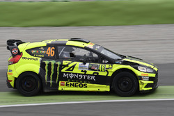 Valentino Rossi, Carlo Cassina, Ford Fiesta