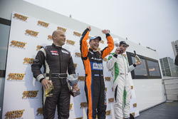 Podium: 2. Mauro Trentin, Petri Corse Motorsport; 1. Thomas Biagi, Antonelli Motorsport; 3. Gabriele Lancieri