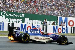Rubens Barrichello, Jordan 931, Hart