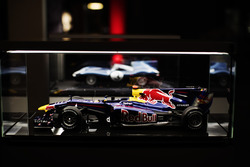 Moddelo del Red Bull de Mark Webber