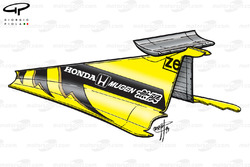 Jordan 199 engine cover and airbox winglet
