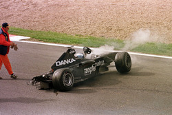 Accident de Mika Salo, Arrows