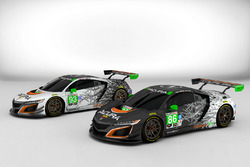 Acura NSX GT3 livery announcement
