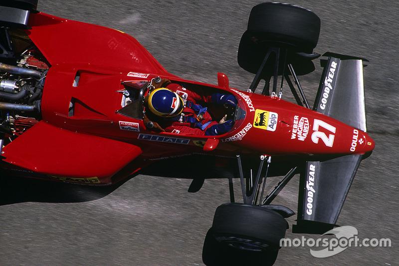 1984: Ferrari 126C4 (одна победа, 2-е место в КК)