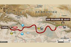 Етап 4: Сан-Сальвадор-де-Хухуй (Аргентина) - Тупіса (Болівія)