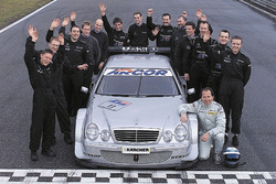 Klaus Ludwig, Mercedes-Benz  CLK, HWA AG en het team