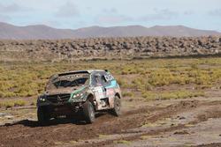 #329 Colcar, Mercedes: Juan Silva, Sergio Lafuente