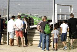 После пожара: №7 HB Racing Lamborghini Huracan GT3: Херберт Хандлос, Норберт Зидлер, Сэм Тордофф, Флориан Спенглер