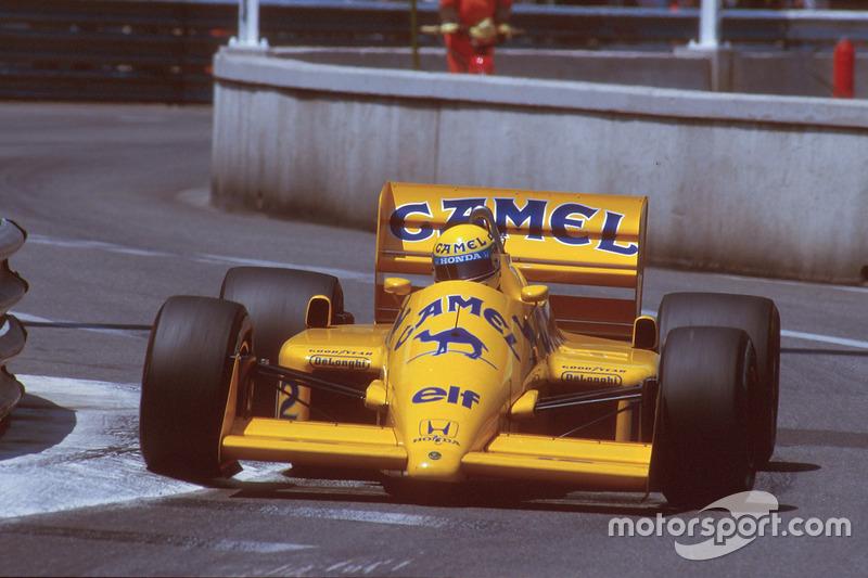 1987 Monaco: Lotus 99T