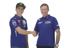 Lin Jarvis, Yamaha Factory Racing Gerente Director, Maverick Viñales, Yamaha Factory Racing