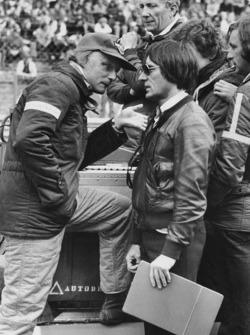 Niki Lauda Bernie Ecclestone-nal