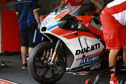La moto di Andrea Dovizioso, Ducati Team