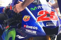 Detail, Bike von Maverick Viñales, Yamaha Factory Racing
