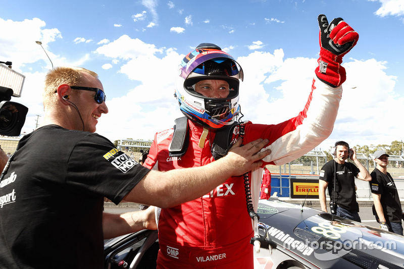 Pole #88 Maranello Motorsport, Ferrari 488 GT3: Toni Vilander
