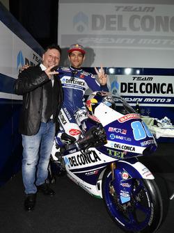 Jorge Martín, Gresini Racing Team with Fausto Gresini, Team Manager