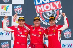 Подиум: №88 Maranello Motorsport, Ferrari 488 GT3: Тони Виландер, Крейг Лоундес, Джейми Уинкап