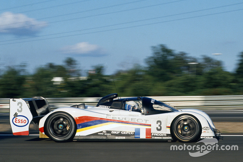 1993: Geoff Brabham, Christophe Bouchut, Eric Helary, Peugeot 905 Evo 1B