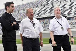 Travis Geisler, Team Penske; Edsel Ford; Kevin Kennedy