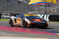 #48 M Motorsport, Lamborghini Gallardo R-EX: Justin McMillan, Glen Wood