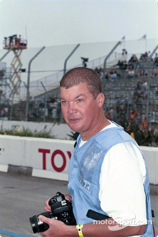 Motorsport.com photographer and race car driver Dan Jones