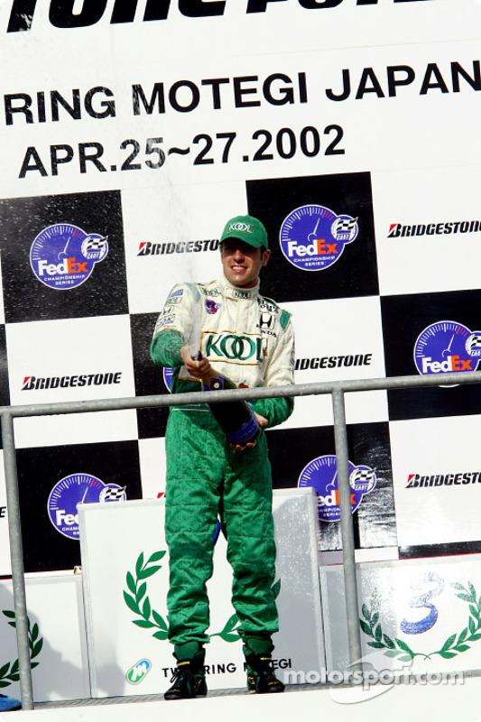 Le podium : Dario Franchitti