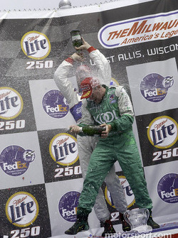 Champagne for Paul Tracy