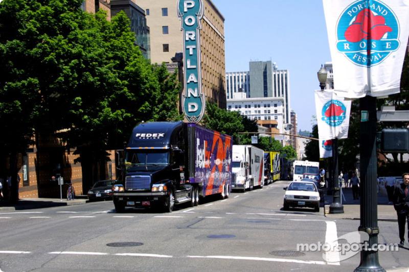 Transporters parade