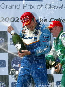 Champagne for Patrick Carpentier
