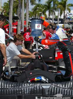 Preparándose para la carrera