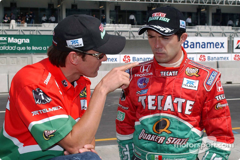 Adrián Fernández y Luis Díaz