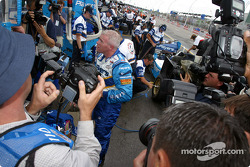 Media attention for local hero Paul Tracy