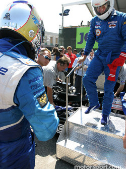 Champ Car 2-seater experience: Paul Tracy and Bell's Duncan Stauch