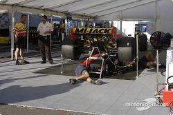 Mi-Jack Conquest Racing paddock area