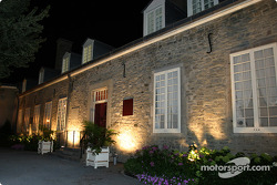 Montréal nightlights: Château Ramezay in Old Montréal